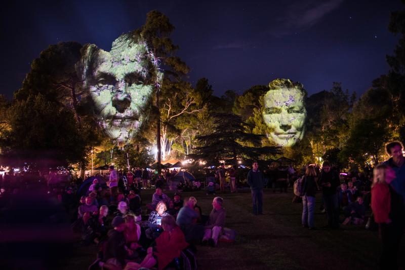 WOMADelaide Tree Projection