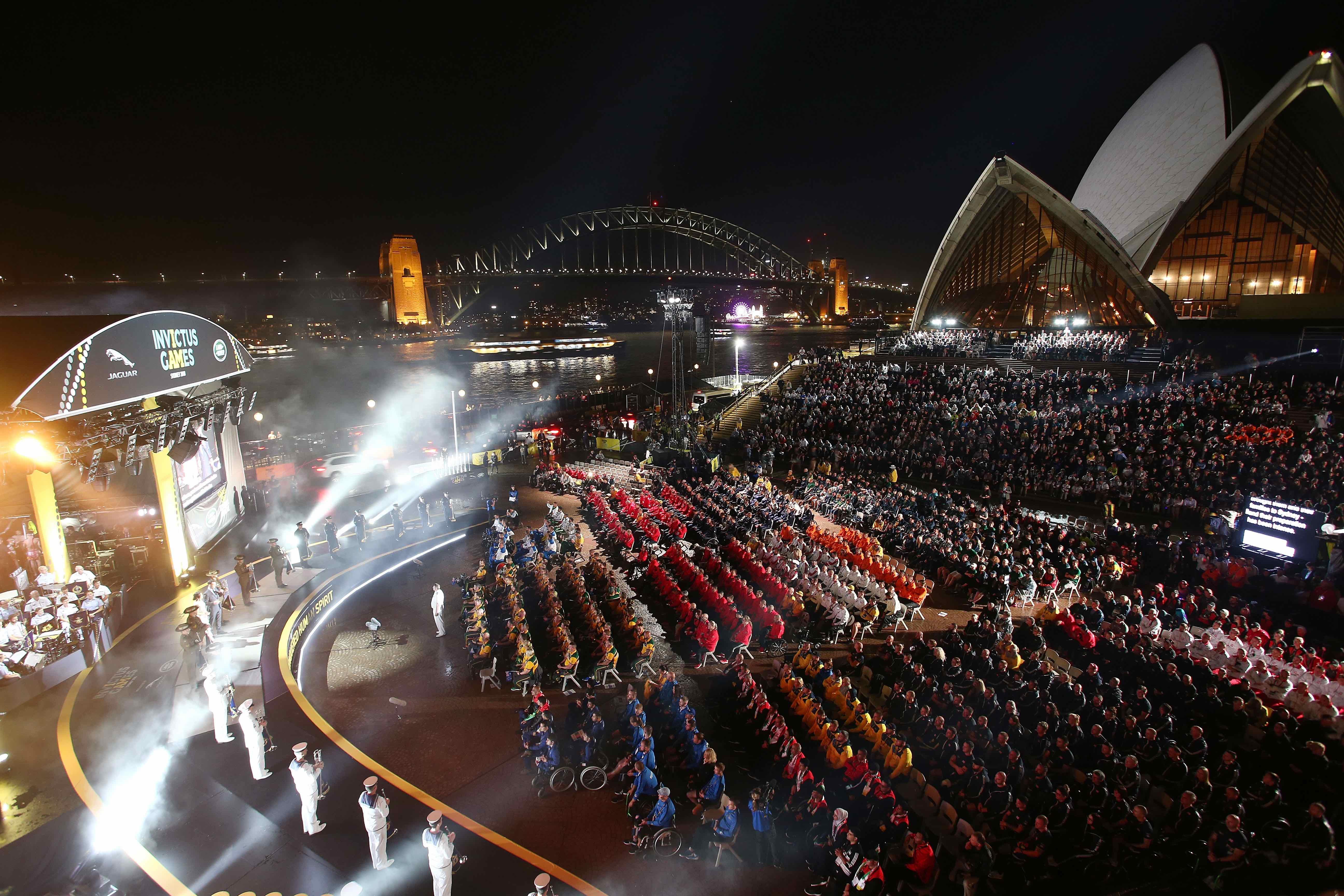 Invictus Games Sydney 2018 Opening ceremony